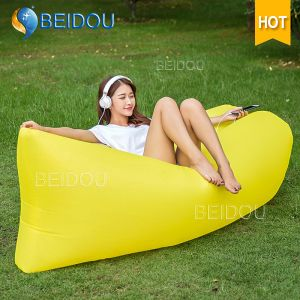 DIY Hammock Chair Inflatable Camping Portable Air Nylon Yoga Hammock