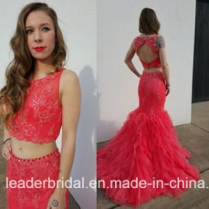 Jewelry Party Prom Ball Gowns Lace Tulle Evening Dress E17921 pictures & photos