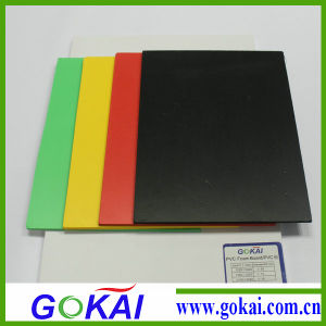 Competitive Price 4mm Free Foam PVC Sheets Black pictures & photos