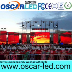 High Quality Outdoor Full Color P8 SMD Rental LED Display Screen Sign