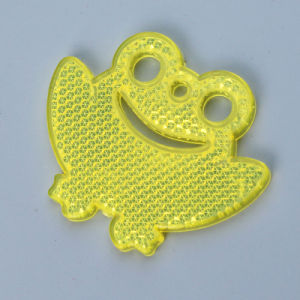 Cat Eye Plastic Reflector Keychain for Bags, New Hot Promotion Gifts (JG-T-31) pictures & photos
