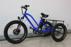 2017 Electric Tricycle with Rear Steel Bracket for Adult pictures & photos