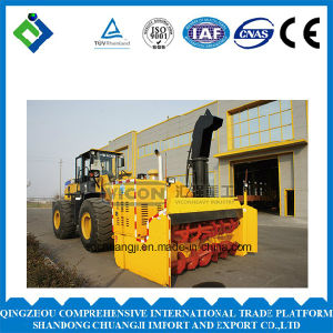 Large Snow Throwing Machine/Snowplow