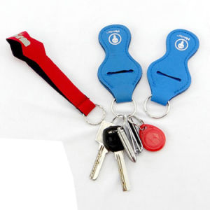 Hot Selling Eco-Friendly Wholesale Custom Neoprene Keychain pictures & photos