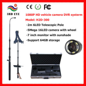 "1080P HD Under Vehicle Inspection Camera DVR Kit 7"" DVR pictures & photos"