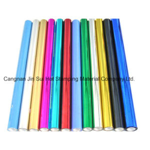 Colorful Hot Stamping Paper for Gift Case pictures & photos