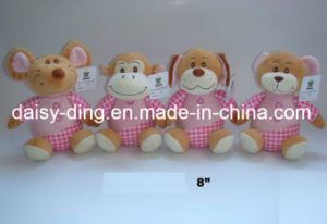 3 Sizes Plush Valentine Sitting Bears with Soft Material (only skin is avaliable) pictures & photos