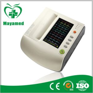 My-H008 9 Inch Color Digital Twelve Channel ECG Machine pictures & photos