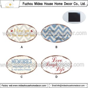 Home Decoration Promotional Oval Heart Shape Custom Fridge Magnet pictures & photos