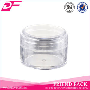20g Round Shaped Cosmetic Plastic Cream Jar pictures & photos
