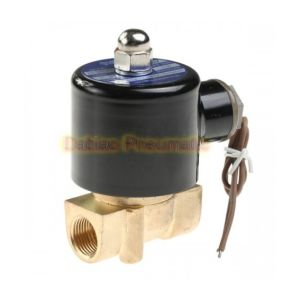 2W Series Water Solenoid Valve Brass 2/2 Way Direct Acting Industrial Valve pictures & photos