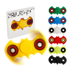 EDC Tri-Spinner Fidget Toys Pattern Hand Spinner Plastic Fidget Spinner and Adhd Adults