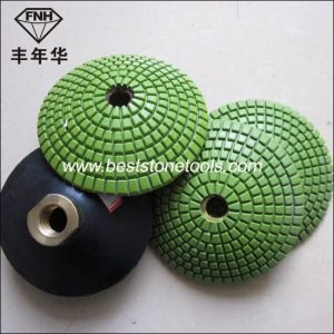 Diamond Convex Polishing Pads for Using Convex Backer pictures & photos