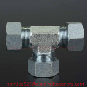 Zinc Plated Carbon Steel Combination Pipe Fitting pictures & photos