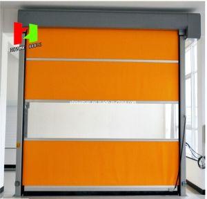 Best Price Automatic Stacking High Speed Fold up Door for Parking Flexible Door (Hz-FC0246) pictures & photos