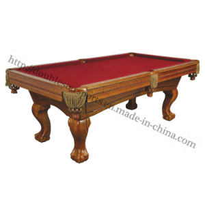 Solid Wood 8FT 9FT Cheap Billiard Pool Tables Tournament pictures & photos