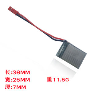 Lipo 3.7V 420mAh 20c Rechargeable Battery Nano Lithium Ion Polymer Bateria pictures & photos
