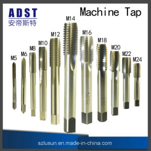 DIN376 HSS Co5 Machine Taps with Straight Flutes pictures & photos