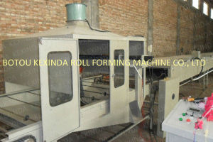 Kxd High Quality Sandblasting Line Stone Coated Roof Tile Making Machine pictures & photos