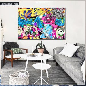 Abstract Wall Art Children Room Cartoon Oil Painting pictures & photos