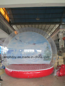 Inflatable Snow Globe Type Christmas Inflatable Snow Globe