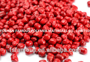 Hot Sale Red Color Masterbatch Cr042 pictures & photos