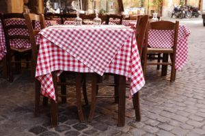 100% Polyester Tablecloth in Wholesale Cheap Price (DPF10790) pictures & photos