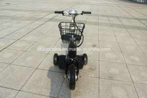 350W 500W Hub Motor Electric Tricycle 3 Wheel Electric Scooter pictures & photos