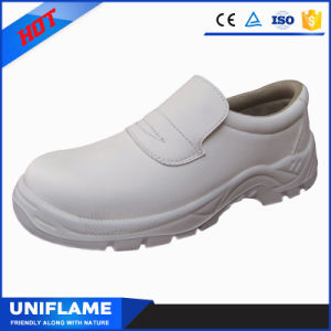 Utex Microfiber White Leather Light Safety Shoes Ufa127 pictures & photos