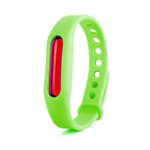 Second Generation Korea 100% Natural Silicone Anti Mosquito Repellent Repeller Bracelet Wristband pictures & photos