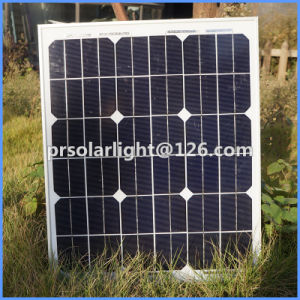 30W High Efficiency Mono Renewable Energy Saving Solar  Module pictures & photos