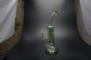 New Design Wholesale High Quality Recycler Glass Water Pipe Smoking Shop Factory pictures & photos