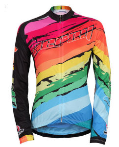 Women Quick Dri Cycling Wear Cycling Jersey with Digital Printing pictures & photos