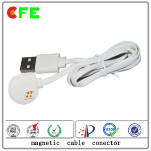 Magnetic Cable Connector with USB for Wearable Product pictures & photos