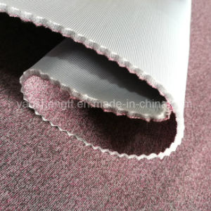 Polyester and Spandex Blended Yarn Knitted Air Spacer Fabric pictures & photos