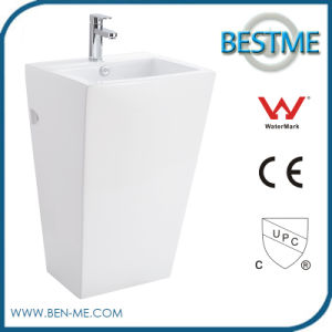 New Design Sanitary Ware Ceramic Pedestal Basin pictures & photos