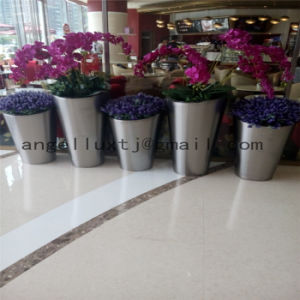 Large Stainless Steel Plant and Flower Pot Per Piece Price for Landscape Decoration pictures & photos
