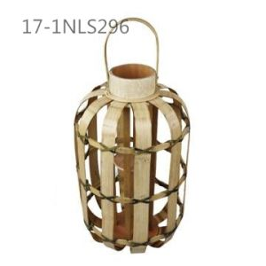 Special Unique Wide Frame Construction Bamboo Lanterns with Handles pictures & photos