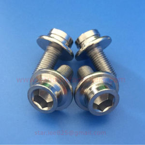 Hexagon Flange Screws with Straight Teeth pictures & photos