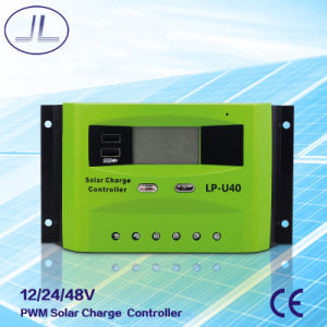 Lp-U40 PWM Intelligent Solar Charge Controller pictures & photos