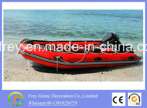 Ce 4.3m/14FT PVC/ Hypalon Inflatable Boat Fishing Boat pictures & photos