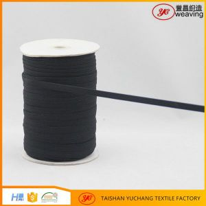 Best Selling Factory Direct Sale Black Braided Elastic Webbing pictures & photos