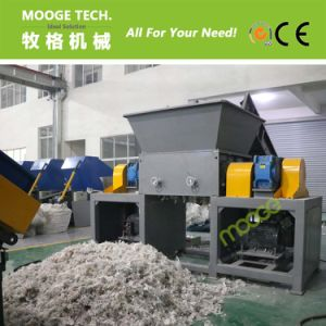 Film double single shaft shredder machine pictures & photos
