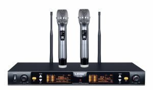 Ls-Q2 Dual Channels Wireless Microphone System UHF Wireless Microphone pictures & photos