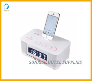 Hotel Docking Stations Alarm Clocks with Bluetooth Function pictures & photos
