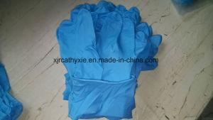 Disposable Nitrile Examination Gloves Powder Free with Good Price