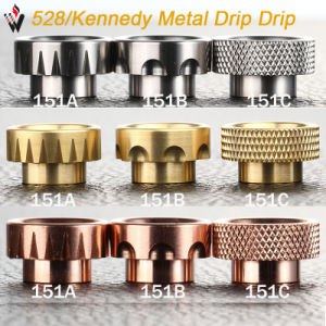 Vivismoke 528 Kennedy Metal Drip Tip Ss Brass Copper Drip Tip for Goon Kennedy pictures & photos