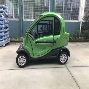 Lithium Battery Electric Vehicle Mini Car Closed Door for Two Persons pictures & photos