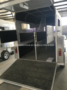 High Quality Standard Version Straight Load Horse Trailer/Horse Float pictures & photos