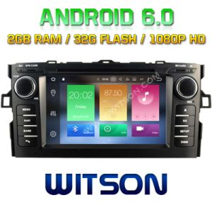 Witson Octa-Core (Eight Core) Android 6.0 Car DVD for Toyota Auris 2007-2011 2g ROM 1080P Touch Screen 32GB ROM (B5730T) pictures & photos